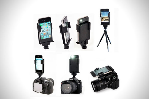 Apple iPhone DSLR Connector by Flash Dock (1)