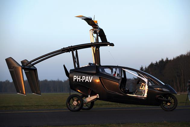 Pal V One - Personal Air and Land Vehicle (7)