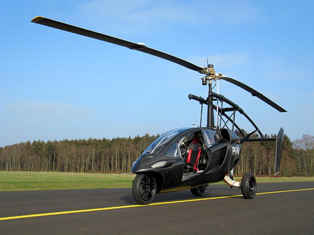 Pal V One - Personal Air and Land Vehicle (5)