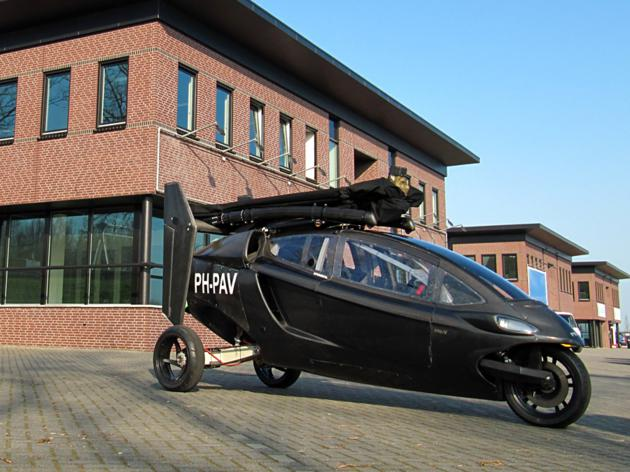 Pal V One - Personal Air and Land Vehicle (4)
