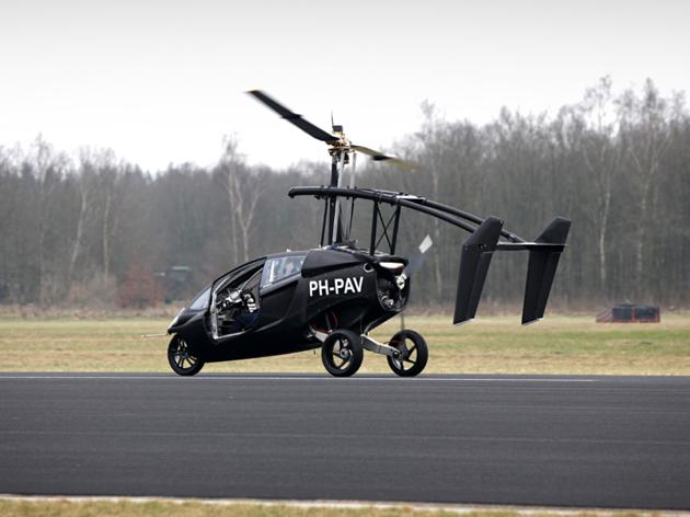 Pal V One - Personal Air and Land Vehicle (3)