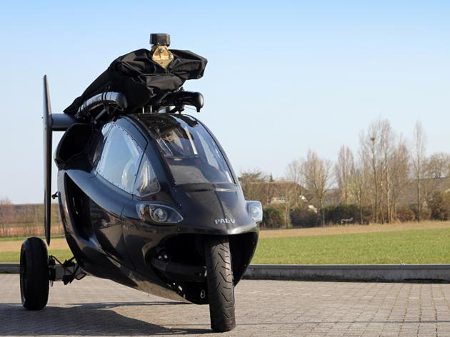 Pal V One - Personal Air and Land Vehicle (2)