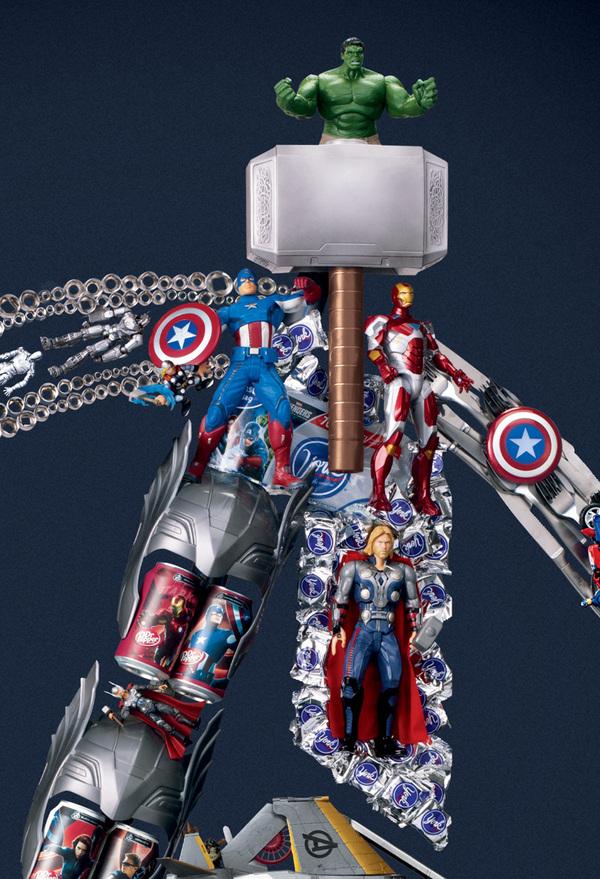 The Avengers Assemble for Target (3)