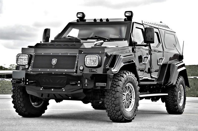 Fully Armored Knight XV SUV (4)