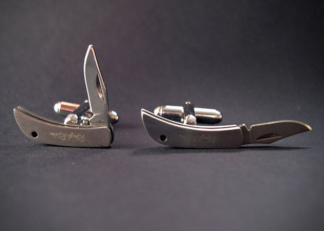 Pocket Knife Cufflinks (1)