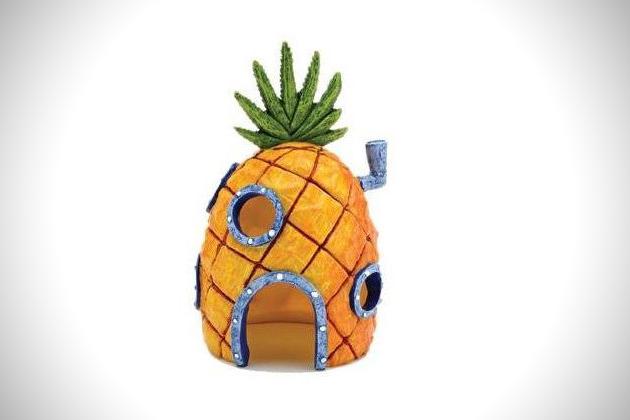 SpongeBob SquarePants Bikini Bottom Aquarium Ornaments (3)