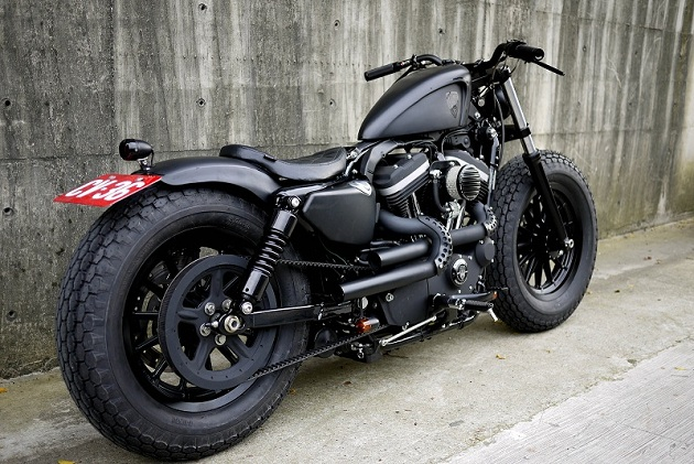 Guerrilla Harley Sportster Custom by Rough Crafts (7)