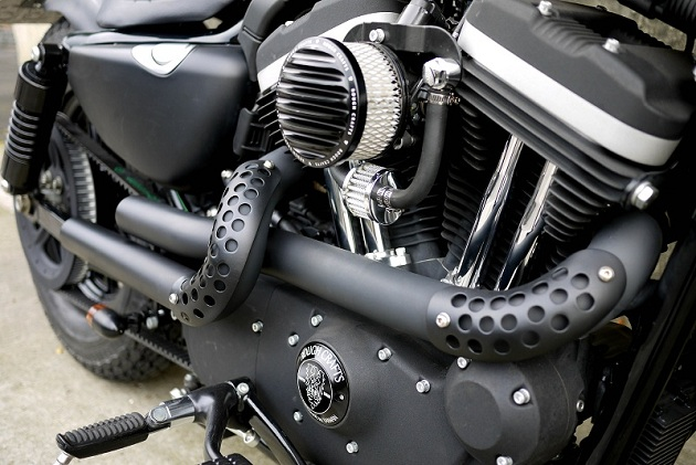 Guerrilla Harley Sportster Custom by Rough Crafts (3)