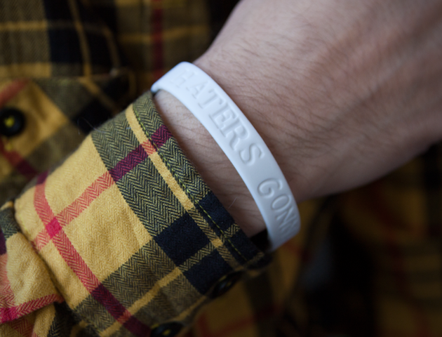 Haters Gonna Hate Wristband (1)