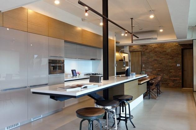 Modern Lai Residence Penthouse in Taiwan (7)