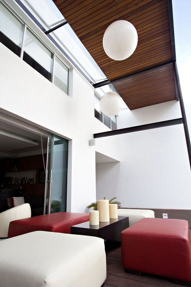 Modern Refurbished Living Residence in Mexico City Mexico (4)