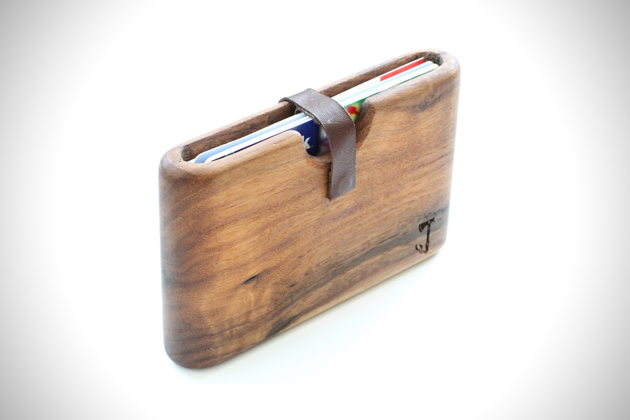 Hand Crafted Wood Wallets by Slim Timber (2)