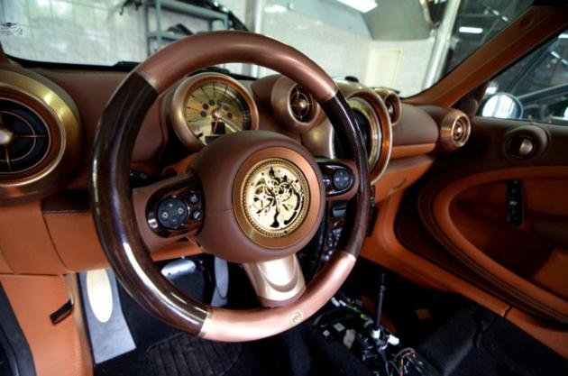 Steampunk Mini Cooper Countryman by Carlex Design (3)