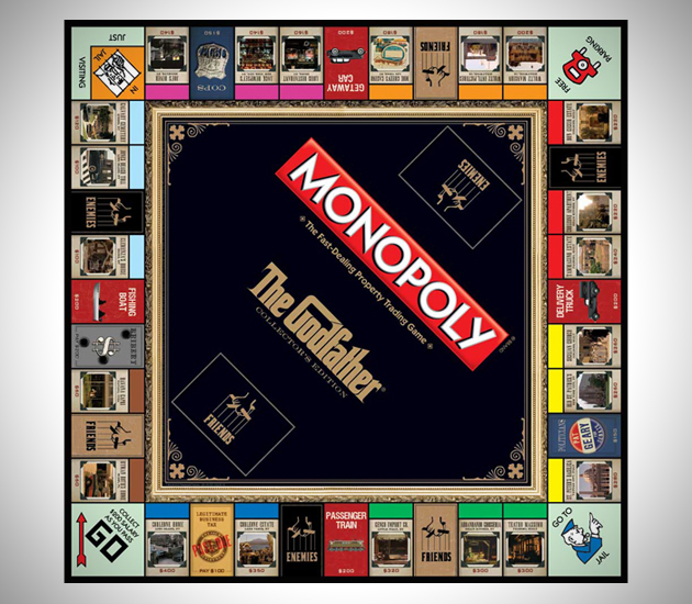 The Godfather Collectors Edition Monopoly (4)