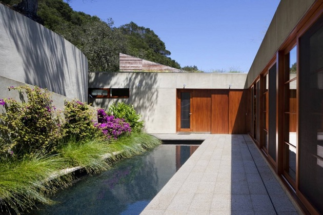 Contemporary Kentfield Hillside Residence by Turnbull Griffin Haesloop Architects (5)