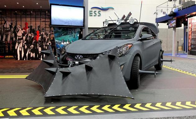 Hyundai Zombie Proof Survival Vehicle 6