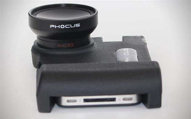 iphone lens adapter phocus dslr lens adapter for apple iphone hiconsumption 11987