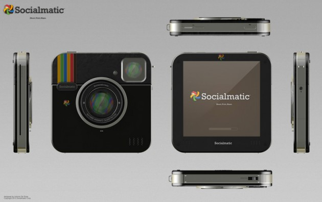 Blacked Out Instagram Socialmatic Camera by ADR Studio (2)