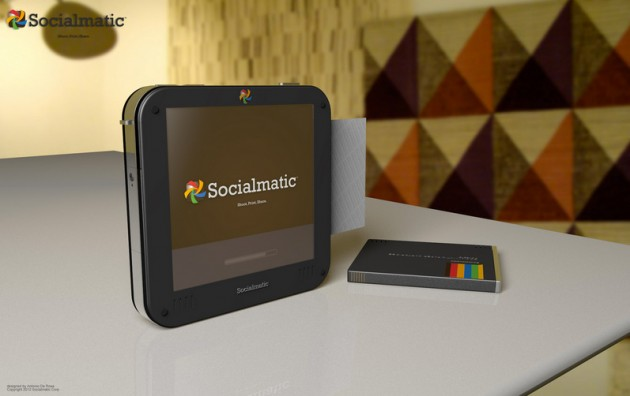 Blacked Out Instagram Socialmatic Camera by ADR Studio (1)
