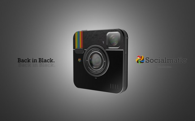 Blacked Out Instagram Socialmatic Camera by ADR Studio (5)