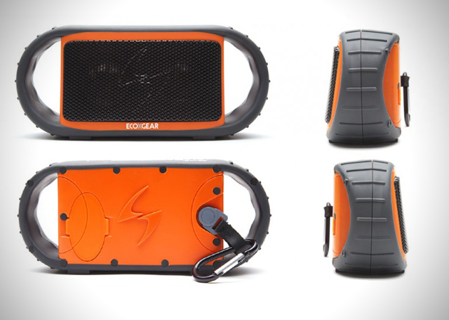 ECOXGEAR ECOXBT Waterproof Wireless Bluetooth Speaker (2)