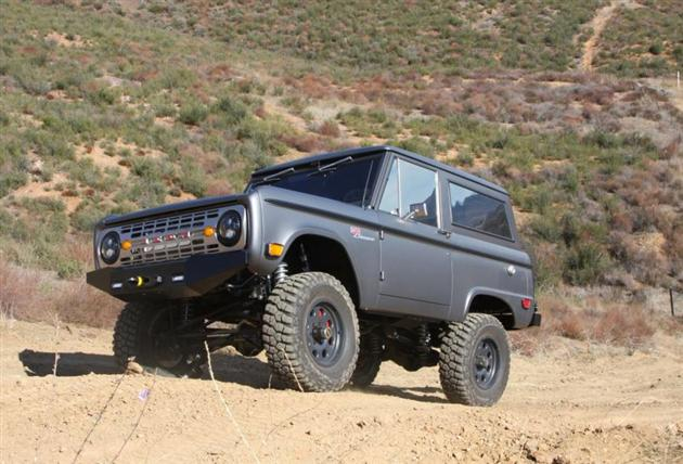 1968 Ford Bronco By Icon 4x4 Hiconsumption