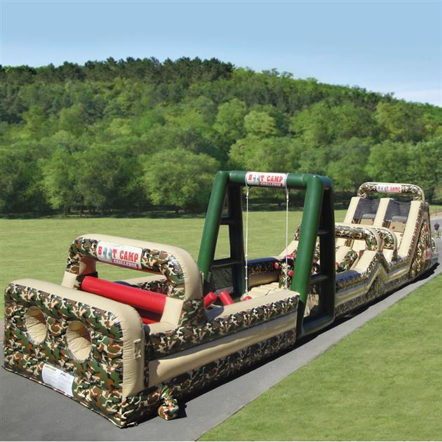 Inflatable Military Obstacle Course (5)