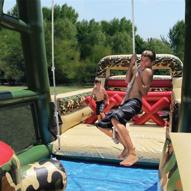 Inflatable Military Obstacle Course (3)