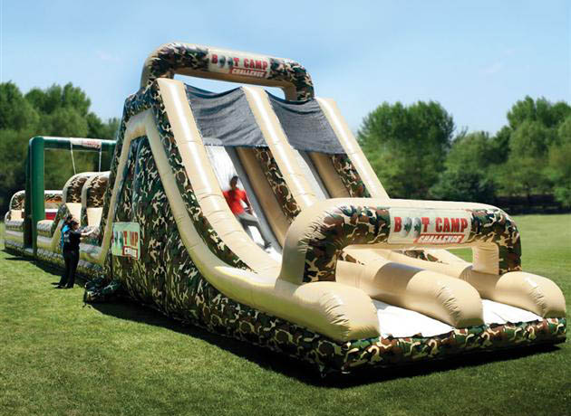 Inflatable Military Obstacle Course (2)