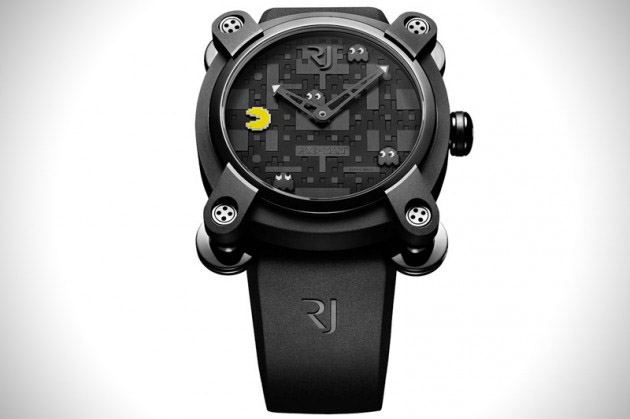 Limited Edition Pac-Man Watches by Romain Jerome (2)
