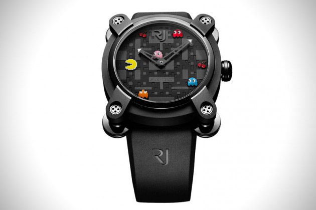 Limited Edition Pac-Man Watches by Romain Jerome (1)