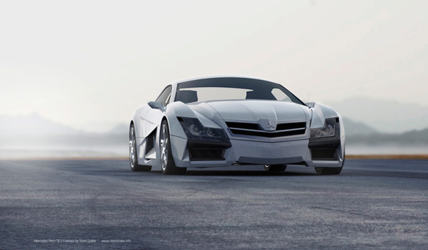 Mercedes-Benz SF1 Concept Car by Steel Drake (8)
