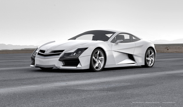 Mercedes-Benz SF1 Concept Car by Steel Drake (6)
