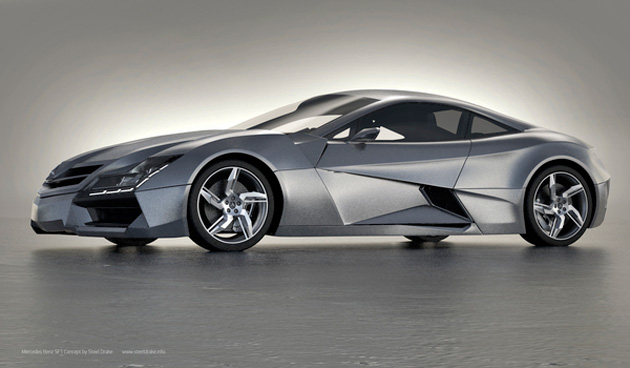 Mercedes-Benz SF1 Concept Car by Steel Drake (5)