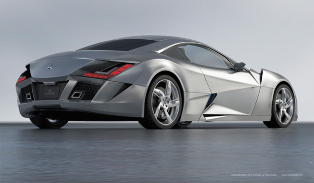 Mercedes-Benz SF1 Concept Car by Steel Drake (4)