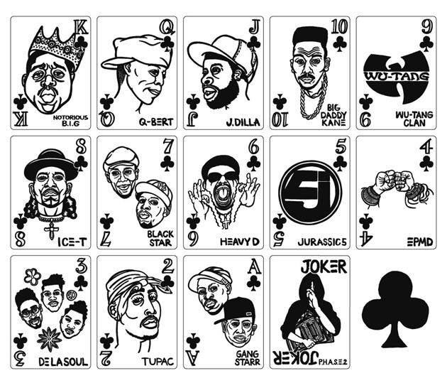 Hip Hop Legends Playing Cards Hiconsumption