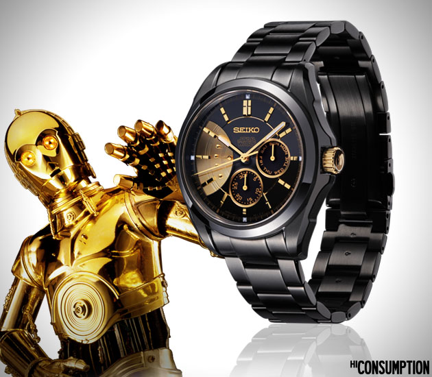 Limited Edition Star Wars Seiko Watch Collection