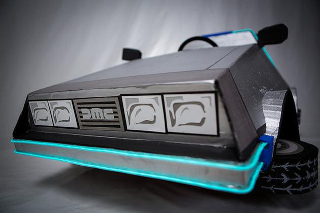 Back To The Future DeLorean Halloween Costume (6)
