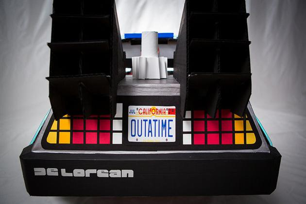 Back To The Future DeLorean Halloween Costume (5)
