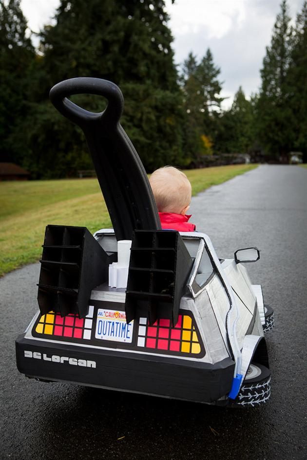 Back To The Future DeLorean Halloween Costume (1)