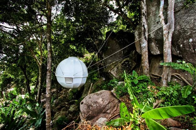 Cocoon Tent Tree House (6)