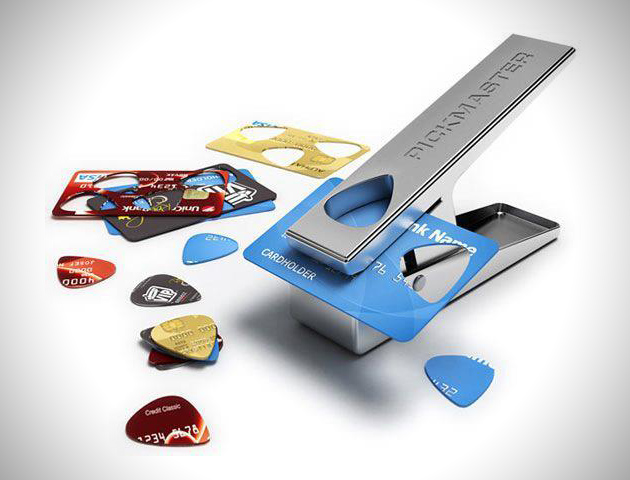 Custom Recycled Guitar Pick Maker