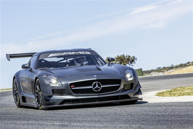 Mercedes-Benz SLS AMG GT3 45th Anniversary Edition (5)