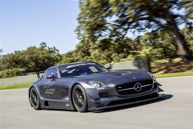 Mercedes-Benz SLS AMG GT3 45th Anniversary Edition (4)