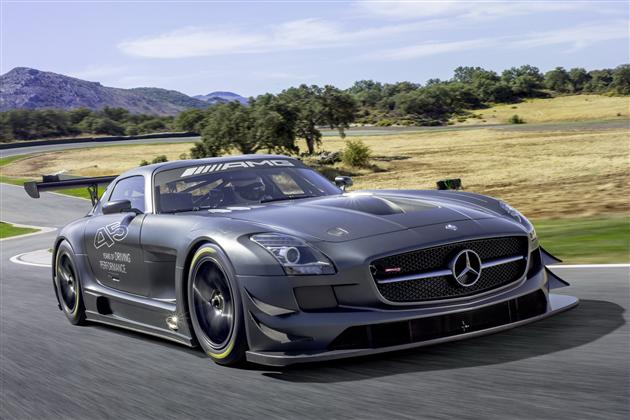 Mercedes-Benz SLS AMG GT3 45th Anniversary Edition (2)