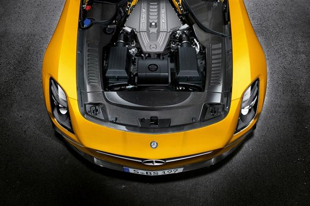 2014 Mercedes-Benz SLS AMG Black Series (1)