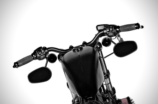 Harley Forty-Eight Custom by Rough Crafts (4)