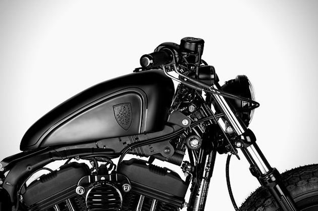 Harley Forty-Eight Custom by Rough Crafts (2)