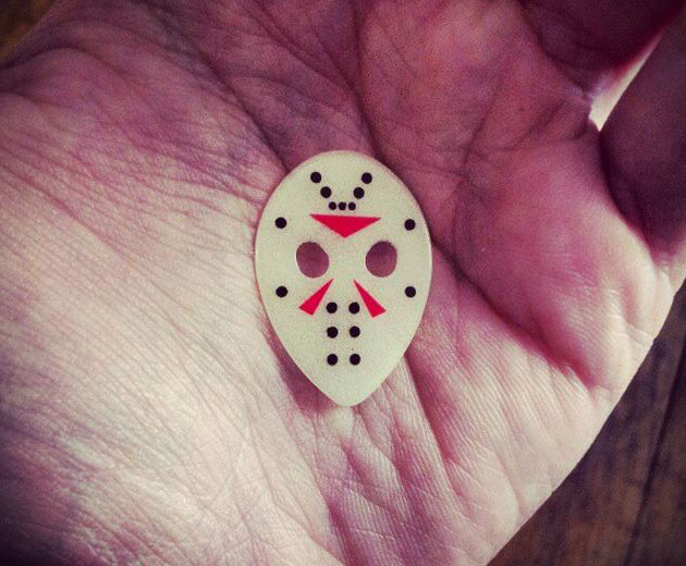 Jason Voorhees Friday The 13th Guitar Pick