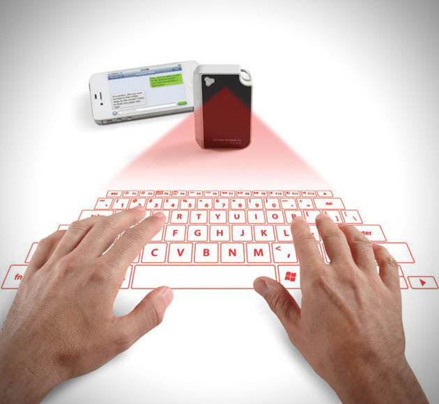 Keychain Laser Projection Virtual Keyboard (3)